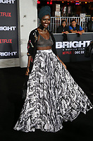 WESTWOOD, CA - DECEMBER 13: Jodie Turner-Smith, at Premiere Of Netflix's 'Bright' at The Regency Village Theatre, In Hollywood, California on December 13, 2017. Credit: Faye Sadou/MediaPunch /NortePhoto.com NORTEPHOTOMEXICO