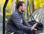 BLOEMENDAAL - Hockey- competitiewedstrijd Bloemendaal MA1-HDM MA1 . coach Sjoerd Wolters.(Bl'daal).  COPYRIGHT KOEN SUYK