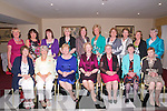 Class of 62 Reunion: The class of 1962 Leaving Cert from Listowel Convent Secondary school pictured at a class 5oth year reunion at the Listowel Arms Hotel on Friday evening last. Front : Margaret Carmody, Marlene Kearney, Kitty Dillon, Anne Stack, Ellen Mulvihill, Aileen Neligan & Phyllis Dunne. Back : Ena Flaherty, Helen Keane,Peggy Hanrahan, Kitty Purtill, Eileen Scanlan, Kitty Lyons, Fredi Carr, Cathleen Browne, Ann Carroll & Nora Keane.