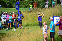 Sei Young Kim (KOR) watches her tee shot on 15 during Saturday's round 3 of the 2017 KPMG Women's PGA Championship, at Olympia Fields Country Club, Olympia Fields, Illinois. 7/1/2017.<br /> Picture: Golffile | Ken Murray<br /> <br /> <br /> All photo usage must carry mandatory copyright credit (&copy; Golffile | Ken Murray)
