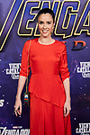 Alba Lago attends to Avengers Endgame premiere at Capitol cinema in Madrid, Spain. April 23, 2019. (ALTERPHOTOS/A. Perez Meca)