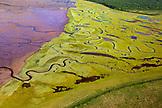 USA, Alaska, Homer, aerial landscape of Katmai National Park, Katmai Peninsula, Hallow Bay, Gulf of Alaska