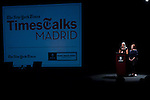 22.09.2012.The New York Times in collaboration with the Department of Arts of the City of Madrid presented, for the first time in Madrid, a series of TimesTalks at the Teatro Fernan Gomez, with prominent international personalities from film, theater and music in conversation with journalists from the New York Times. In the image (L-R) Journalists from The New York Times, Gwynne Philbrook and Karol Day (Alterphotos/Marta Gonzalez)