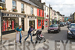 William street, Listowel basking in sunshine on Tuesday.