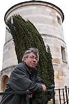 Urugayan author Carlos Liscano in Paris to promote his book.