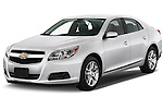 Front three quarter view of a .2013 Chevrolet Malibu ECO 1SA