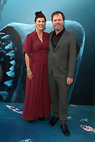 HOLLYWOOD, CA - August 6: Holiday Reinhorn, Rainn Wilson, at Warner Bros. Pictures And Gravity Pictures' Premiere Of &quot;The Meg&quot; at TCL Chinese Theatre IMAX in Hollywood, California on August 6, 2018. <br /> CAP/MPI/FS<br /> &copy;FS/MPI/Capital Pictures