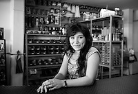 Jenifer Esther Sotelo Traslauiña. Hardware store owners in Culiacan, Sinaloa,  Mexico