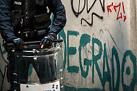 Unknown, Police Officer.<br /> <br /> Rome, 01/05/2019. This year I will not go to a MayDay Parade, I will not photograph Red flags, trade unionists, activists, thousands of members of the public marching, celebrating, chanting, fighting, marking the International Worker's Day. This year, I decided to show some of the Workers I had the chance to meet and document while at Work. This Story is dedicated to all the people who work, to all the People who are struggling to find a job, to the underpaid, to the exploited, and to the people who work in slave conditions, another way is really possible, and it is not the usual meaningless slogan: MAKE MAYDAY EVERYDAY!<br /> <br /> Happy International Workers Day, long live MayDay!