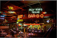 Billy Bob's Texas is a popular country &amp; western nightclub in the Fort Worth Stockyards, Texas. It promotes itself as &quot;The World's Largest Honky Tonk&quot; with 127,000 square feet). Billy Bob's opened April 1, 1981<br /> <br /> The Fort Worth Stockyards celebrate Fort Worth's long tradition as a part of the cattle industry and they were listed on the National Register as a historical district in 1976. The Stockyards consist of mainly entertainment and shopping venues that capitalize on the &quot;Cowtown&quot; image of Fort Worth. Home to the famous boot making company M.L. Leddy's which is located in the heart of the Stockyards.  The Fort Worth Stockyards are the last standing stockyards in the United States. Some volunteers still run the cattle drives through the stockyards.