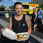 Trin during Sizzling Saturdays Food Truck event in Sparks on Saturday, July 20, 2019.