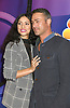 Miranda Rae Mayo and Taylor Kinney of &quot; Chicago Fire&quot; attend the NBC New York Fall Junket on September 6, 2018 at The Four Seasons Hotel in New York, New York, USA. <br /> <br /> photo by Robin Platzer/Twin Images<br />  <br /> phone number 212-935-0770