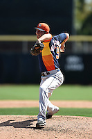 Houston Astros pitcher Asher Wojciechowski (59) during a Spring Training game against the Toronto Blue Jays on March 9, 2015 at Florida Auto Exchange Stadium in Dunedin, Florida.  Houston defeated Toronto 1-0.  (Mike Janes/Four Seam Images)