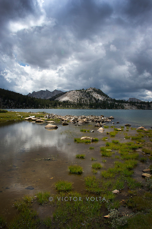 Virginia Lake, John Muir Trail