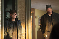 Austin Abrams & Daniel Stewart Sherman.<br /> Puzzle (2018)<br /> *Filmstill - Editorial Use Only*<br /> CAP/RFS<br /> Image supplied by Capital Pictures