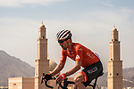 Danny Pate (USA) Rally Cycling from the breakaway group in action during Stage 2 of the 2018 Tour of Oman running 167.5km from Sultan Qaboos University to Al Bustan. 14th February 2018.<br /> Picture: ASO/Muscat Municipality/Kare Dehlie Thorstad | Cyclefile<br /> <br /> <br /> All photos usage must carry mandatory copyright credit (&copy; Cyclefile | ASO/Muscat Municipality/Kare Dehlie Thorstad)