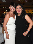 Sandra Finegan celebrating her 50th birthday in the Westcourt hotel with friend Briege Lee. Photo: Colin Bell/pressphotos.ie