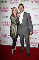 HOLLYWOOD, CA - February 12: Caroline Laderfelt, Henry Hereford, at Premiere Of Vision Films' 'For The Love Of George' at TCL Chinese 6 Theatres in Hollywood, California on February 12, 2018. Credit: Faye Sadou/MediaPunch
