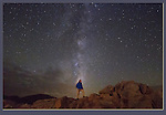 John and Milky Way during a lunar eclipse, Boulder, Colorado. Today's cameras make all sorts of photography readily accessible.