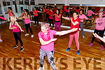 Dancing the evening away at the Carly Norris danceathon fundraiser for Recover Haven on Sunday in Collis Sandes House.
