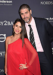 CULVER CITY, CA - NOVEMBER 11: Actress/director Soleil Moon Frye (L) and producer Jason Goldberg attend the 2017 Baby2Baby Gala at 3Labs on November 11, 2017 in Culver City, California.