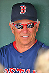 8 March 2012: Boston Red Sox Manager Bobby Valentine chats with the press prior to a Spring Training game against the St. Louis Cardinals at Roger Dean Stadium in Jupiter, Florida. The Cardinals defeated the Red Sox 9-3 in Grapefruit League action. Mandatory Credit: Ed Wolfstein Photo