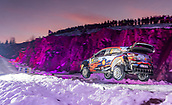 2019 WRC Rally of Sweden Day 2 Feb 15th