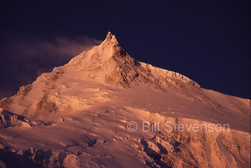 The East Peak of Manaslu 25,900 ft  in Nepal.