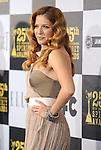 LOS ANGELES, CA. - March 05: Actress Rachelle Lefevre  arrives at the 25th Film Independent Spirit Awards held at Nokia Theatre L.A. Live on March 5, 2010 in Los Angeles, California.