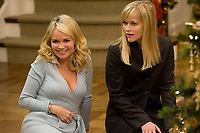Four Christmases (2008) <br /> Reese Witherspoon &amp; Kristin Chenoweth<br /> *Filmstill - Editorial Use Only*<br /> CAP/KFS<br /> Image supplied by Capital Pictures