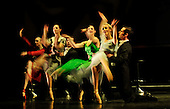 Scottish Ballet unveil their Autumn serason with dress rehearsals of Kings 2 Ends and Pennies from Heaven - at the Theatre Royal - Glasgow - Soloist Eve Mutso leads the troupe in Pennies from Heaven - picture by Donald MacLeod - 28.9.11 - clanmacleod@btinternet.com 07702 319 738 donald-macleod.com