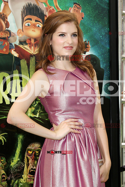 "LOS ANGELES - AUG 5:  Anna Kendrick arrives at the ""ParaNorman"" Premiere at Universal CityWalk on August 5, 2012 in Universal City, CA © mpi27/MediaPunch Inc"
