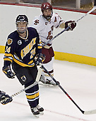 Scott Drewicki, Chris Collins - Boston College defeated Merrimack College 3-0 with Tim Filangieri's first two collegiate goals on November 26, 2005 at Kelley Rink/Conte Forum in Chestnut Hill, MA.