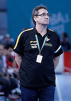 Spain's coach Valero Rivera during 23rd Men's Handball World Championship preliminary round match.January 14,2013. (ALTERPHOTOS/Acero) /NortePhoto