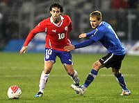 Selección Chilena 2011 Chile vs Estonia