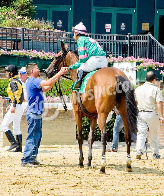 Silentiary winning Delaware Park on 6/28/12