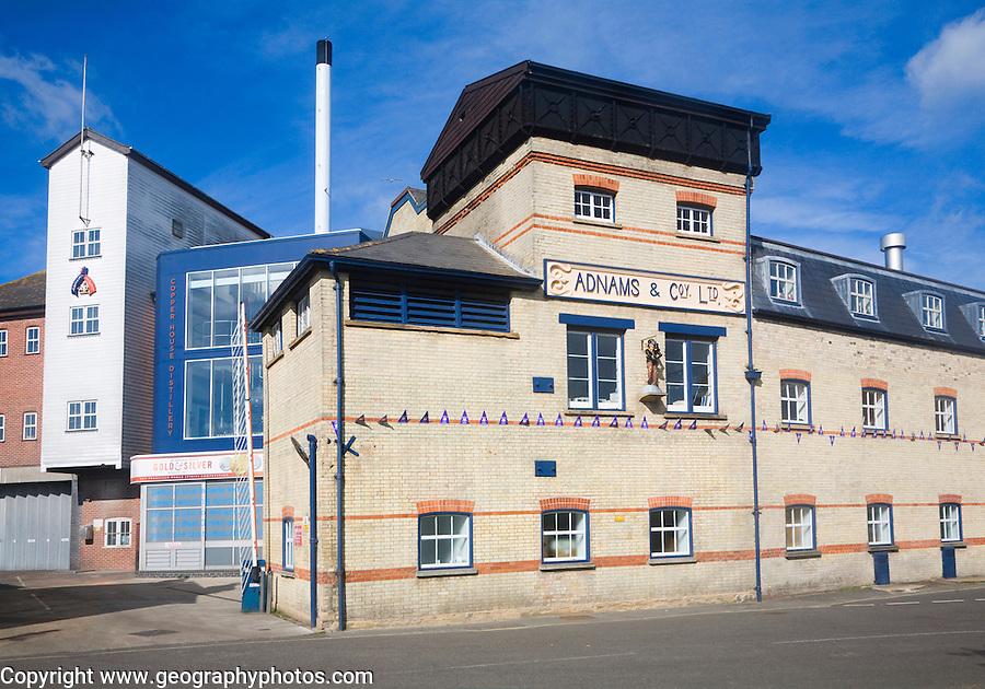 Adnams brewery, Southwold, Suffolk,
