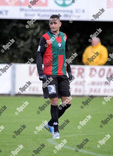 2013-11-02 / Voetbal / seizoen 2013-2014 / GR Katelijne / Elayadi Nour Eddine<br /><br />Foto: Mpics.be
