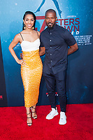 Los Angeles, CA - AUGUST 13th: <br /> Corinne Foxx, Jamie Foxx attends the 47 Meters Down premiere at the Regency Village Theater on August 13th 2019. Credit: Tony Forte/MediaPunch