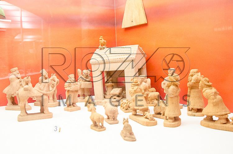 Presépio, século XX. Acervo do Museu de Arte Sacra de São Paulo, São Paulo - SP, 02/2013.