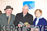 ANNUAL: Padraig O Dalagh, Brenda?in Mac Gearailt and Sr Colmcuille at the launch of the 17th annual Eigse na Bri?deoige festival in Ionaid Lae na Dromada on Friday night.