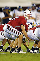 Ryan Eklund during Stanford's 63-26 win over San Jose State on September 14, 2002 at Stanford Stadium.<br />