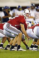Ryan Eklund during Stanford's 63-26 win over San Jose State on September 14, 2002 at Stanford Stadium.<br />Photo credit mandatory: Gonzalesphoto.com