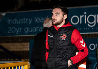Fleetwood Town's Lewis Coyle pictured before the match<br /> <br /> Photographer Andrew Kearns/CameraSport<br /> <br /> The EFL Sky Bet League One - Wycombe Wanderers v Fleetwood Town - Tuesday 11th February 2020 - Adams Park - Wycombe<br /> <br /> World Copyright © 2020 CameraSport. All rights reserved. 43 Linden Ave. Countesthorpe. Leicester. England. LE8 5PG - Tel: +44 (0) 116 277 4147 - admin@camerasport.com - www.camerasport.com