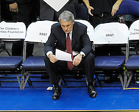 Gary Williams of the Maryland Terrapins is retiring after 22 years coaching the Men's Basketball team.  Alan P. Santos/DC Sports Box.