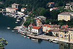 Small village on the coast of northern Croatia