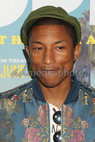 "8 June 2015 - Los Angeles, California - Pharrell Williams. LA Film Festival 2015 Premiere of ""Dope"" held at Regal Cinemas L.A. Live. Photo Credit: Byron Purvis/AdMedia"