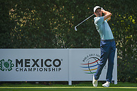 Ross Fisher (ENG) watches his tee shot on 12 during round 2 of the World Golf Championships, Mexico, Club De Golf Chapultepec, Mexico City, Mexico. 3/2/2018.<br /> Picture: Golffile | Ken Murray<br /> <br /> <br /> All photo usage must carry mandatory copyright credit (&copy; Golffile | Ken Murray)