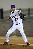 March 9, 2010:  Pitcher Chas Spottswood of the Florida Gators during a game at McKethan Stadium in Gainesville, FL.  Photo By Mike Janes/Four Seam Images