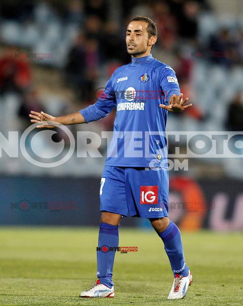 Getafe's Diego Castro during La Liga match.November 18,2012. (ALTERPHOTOS/Acero) NortePhoto